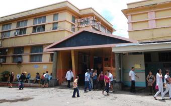 El hospital San Juan de Dios de Santa Ana está vivo.